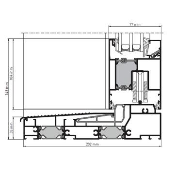 fensterbau kuhnert aluminiumfenster heroal w72 fenstersysteme der n chsten generation. Black Bedroom Furniture Sets. Home Design Ideas